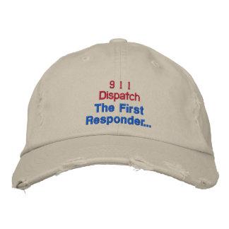 El primer respondedor gorra de béisbol bordada