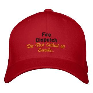 El primer respondedor gorras bordadas