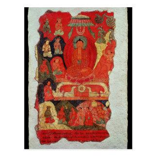 El primer sermón de Buda Tarjetas Postales