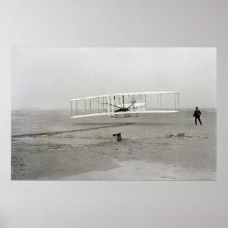 El primer vuelo impresiones