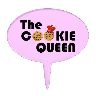 El primero de la torta de la reina de la galleta decoraciones para tartas