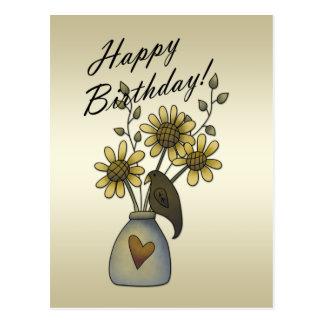 El primitivo canta postal del cumpleaños de los gi