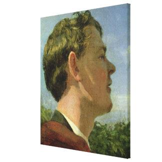 El primo del artista, c.1860 impresión en lienzo