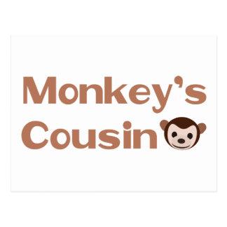 El primo del mono postal