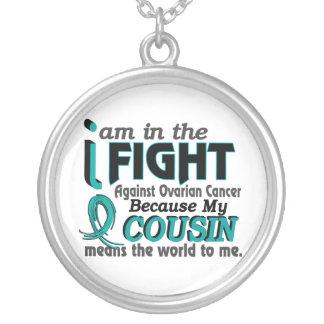 El primo significa el mundo a mí cáncer ovárico colgante redondo