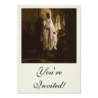 El principal arte africano del Moorish Invitación Personalizada