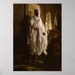 El principal arte africano del Moorish Póster