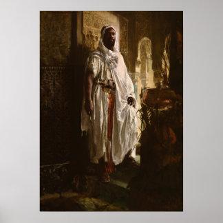 El principal arte africano del Moorish Posters