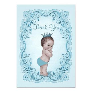 """El príncipe azul fiesta de bienvenida al bebé del invitación 3.5"""" x 5"""""""