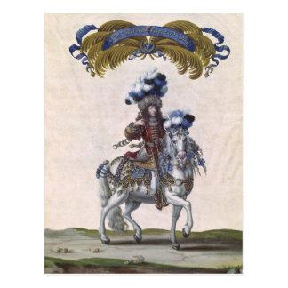 El príncipe de Conde Tarjeta Postal