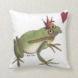 El príncipe de la rana almohada