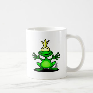 El príncipe de la rana taza de café
