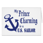 El príncipe el encantar es marinero felicitaciones