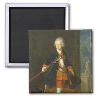El Príncipe heredero Frederick II Imán Cuadrado