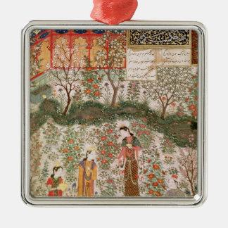 El príncipe persa Humay Meeting el chino Ornamentos De Reyes