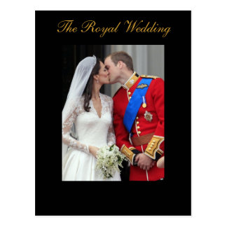 El príncipe real Guillermo Kate Middleton del boda Tarjetas Postales