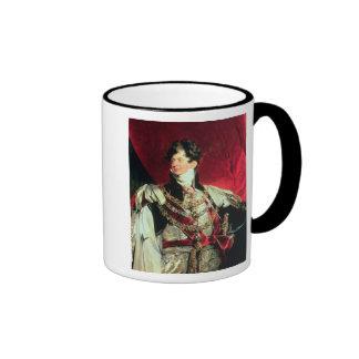 El príncipe Regent, George IV posterior 2 Taza A Dos Colores
