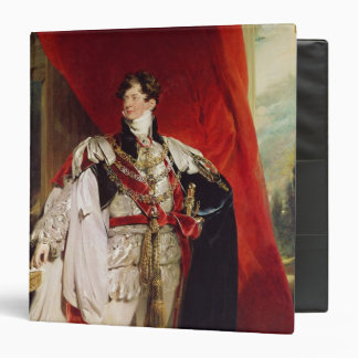"El príncipe Regent, George IV posterior Carpeta 1 1/2"""