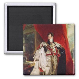 El príncipe Regent, George IV posterior Imán Cuadrado