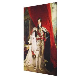 El príncipe Regent, George IV posterior Impresiones En Lona