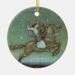 El príncipe Rides en claro de luna de Juan Bauer Ornamentos De Reyes Magos