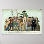 El principio de la Revolución Francesa Póster