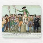 El principio de la Revolución Francesa Tapete De Raton