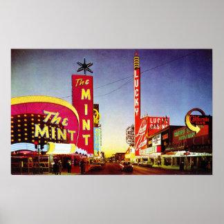 El principio de los años 60: Las Vegas Póster