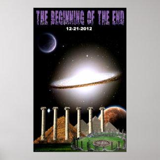 El principio del poster del extremo póster