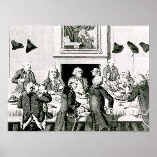El probar, 1780 póster