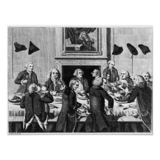 El probar, 1782 póster