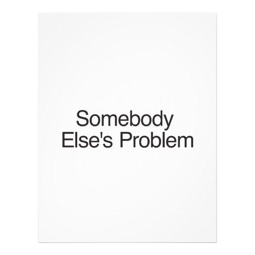 El Problem.ai del alguien diferente Tarjeta Publicitaria