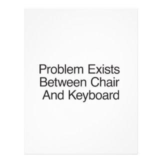 El problema existe entre la silla y Keyboard.ai Flyer A Todo Color