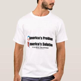 El Problema-Romney's de Obama la solución Playera