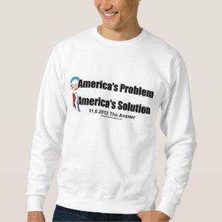 El Problema-Romney's de Obama la solución Sudadera