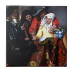 El Procuress de Juan Vermeer Azulejos Cerámicos