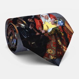 El Procuress de Juan Vermeer Corbata Personalizada