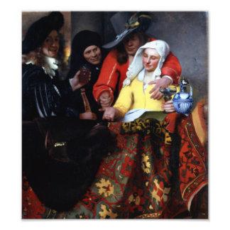 El Procuress de Juan Vermeer Arte Fotografico