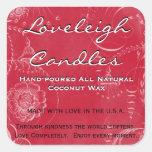 El producto de encargo de Loveleigh etiqueta