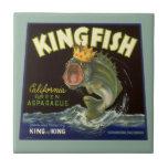 El producto del vintage puede etiquetar el arte, azulejo