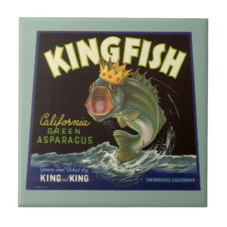 El producto del vintage puede etiquetar el arte, azulejo cuadrado pequeño