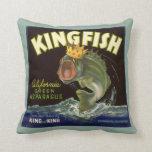 El producto del vintage puede etiquetar el arte, cojines