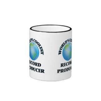 El productor de registro más fresco del mundo taza a dos colores