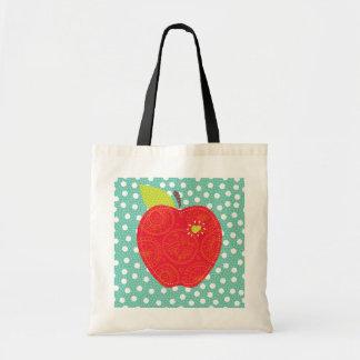 el profesor Apple remienda con el bolso de los pok Bolsa Tela Barata