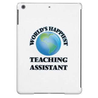 El profesor ayudante más feliz del mundo funda para iPad air