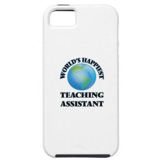 El profesor ayudante más feliz del mundo iPhone 5 carcasas