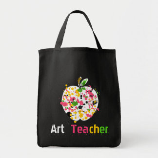 El profesor de arte Apple empaqueta Bolsa Tela Para La Compra