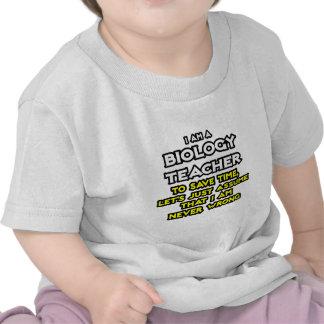 El profesor de biología… asume que nunca soy camiseta