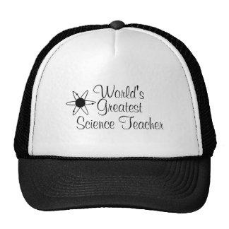El profesor de ciencias más grande 2 de los mundos gorras de camionero