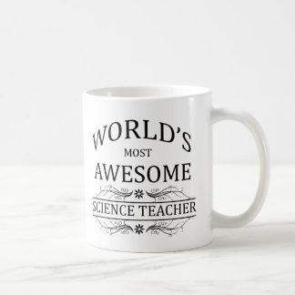 El profesor de ciencias más impresionante del taza